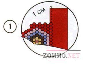 Пример подшивки пэчворк