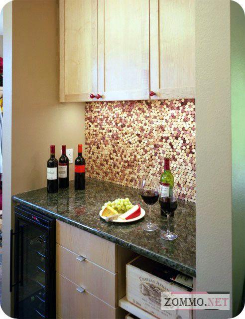 Кухня из винных пробок
