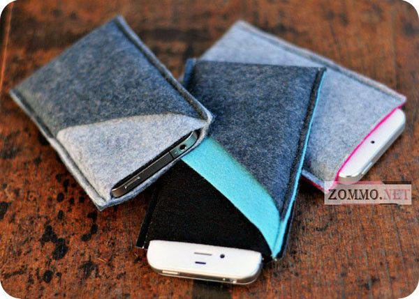 Чехлы для телефонов из фетра