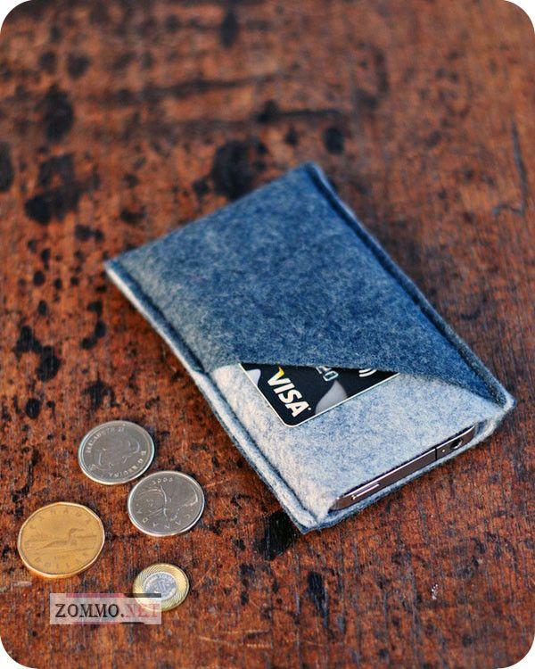 Чехол для мобильного телефона с карманом