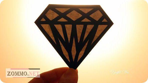 Картина из бумажных драгоценных камней