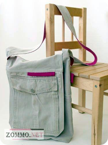 Сумка своими руками из джинса