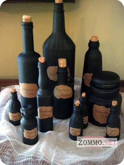 Бутылки из прошлого