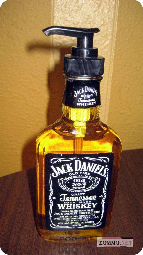 Посуда для шампуня из банки Jack Daniels