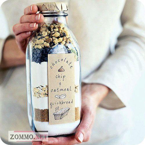 Подарочная упаковка из стеклянной бутылки