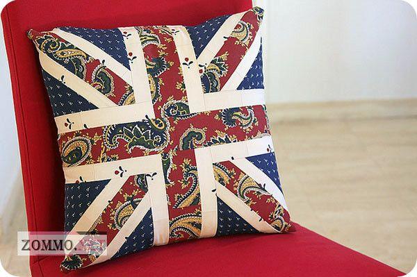 Британский флаг пэчворк