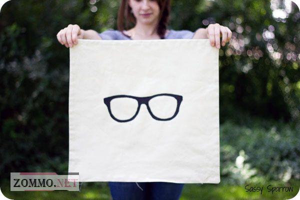 Наволочка с очками