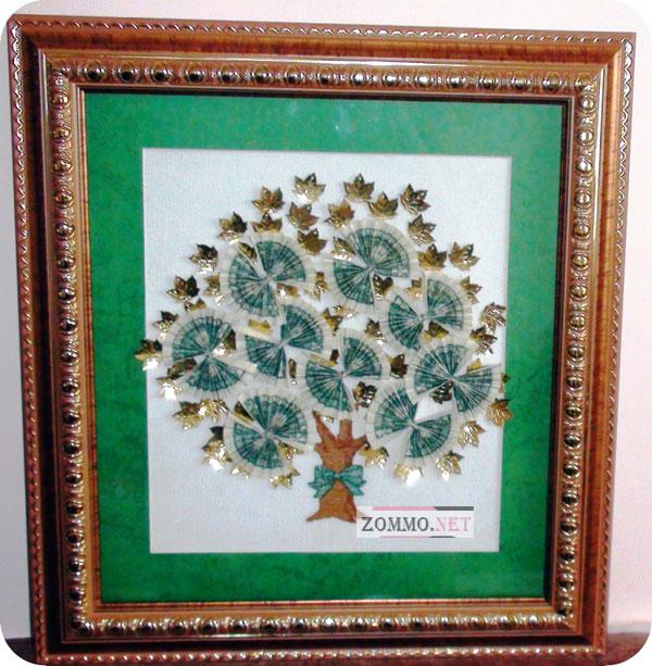 Вышивка денежное дерево