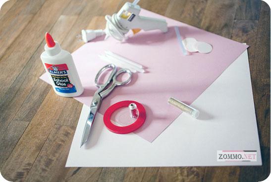 Материалы для создания украшений из бумаги