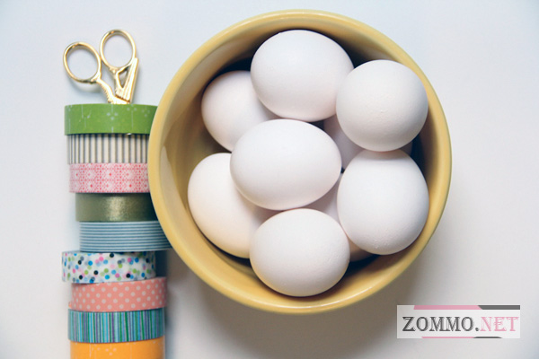 Инструменты и материалы для создания пасхальных яиц