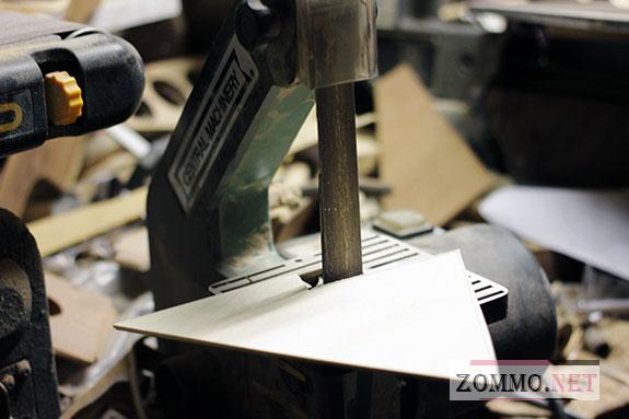 Шлифуем деревянные заготовки для часов