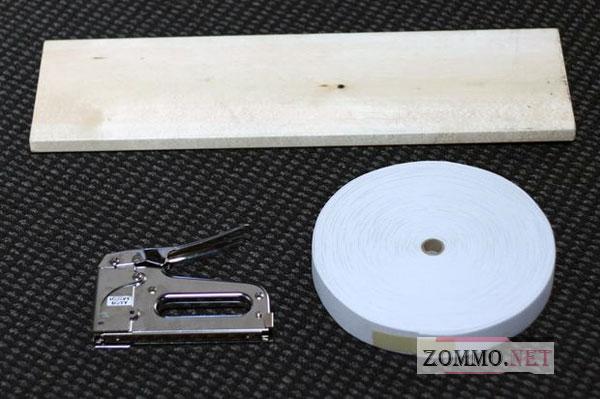 Инструменты и материалы для полки