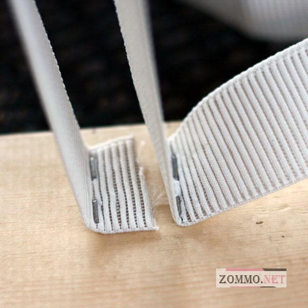Используем степлер для полки