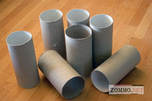 Поделки из бумажных трубочек