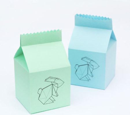 Упаковка с зайчиком своими руками