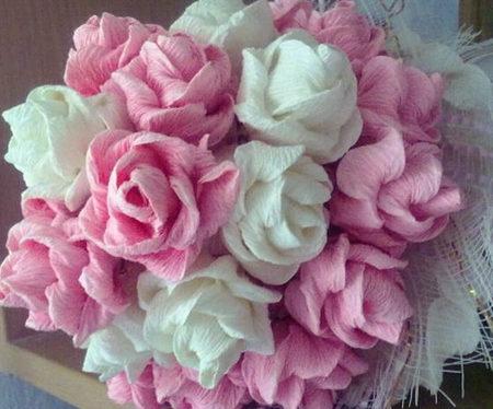 Розы из бумаги своими руками