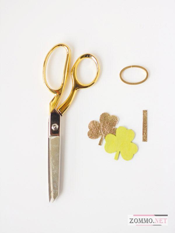 Инструменты и материалы для создания брелка из кожи