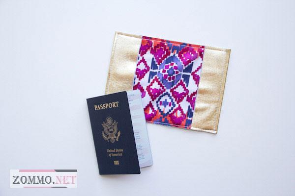Как сделать обложка для паспорта своими руками