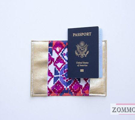 Красивый паспорт с подкладкой(мастер класс)