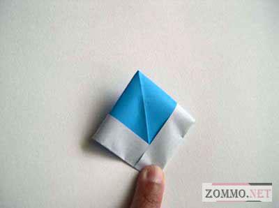 Кораблик оригами