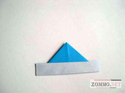 Собираем оригами кораблик
