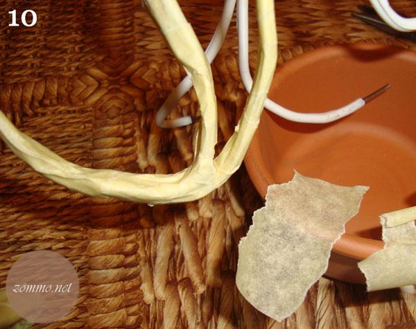 Каркас для кофейного дерева баобаб