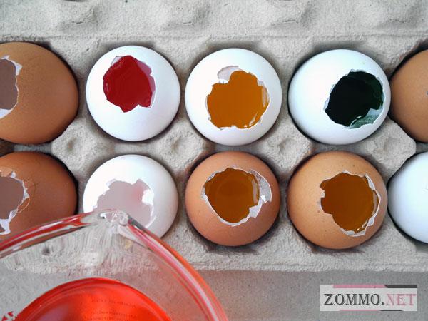 Заливаем яйца желатином