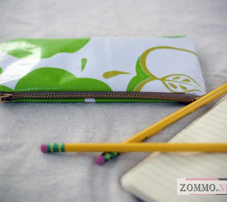 Простой пенал для карандашей и ручек(мастер класс)