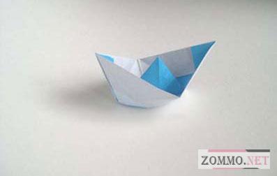 Бумажный кораблик (оригами - мастер класс и видео)