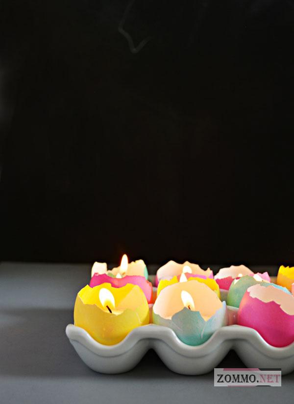 Свечи на Пасху