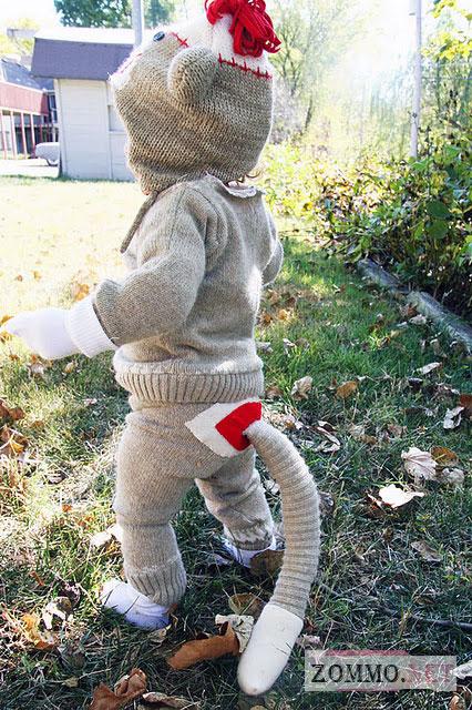Костюм ребенка из носков