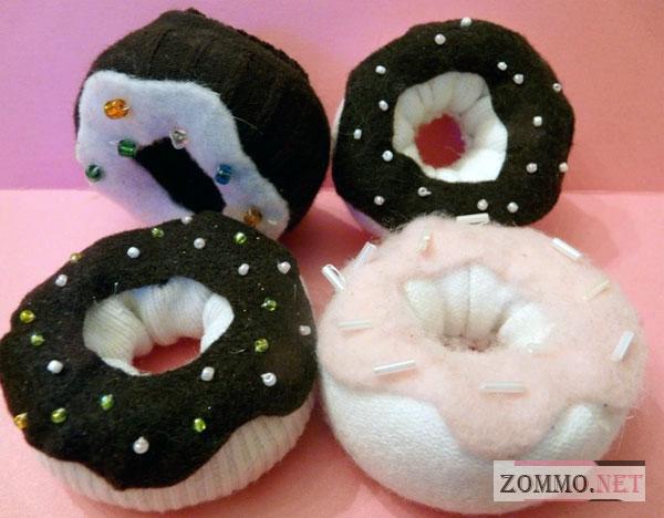 Пончики из носка