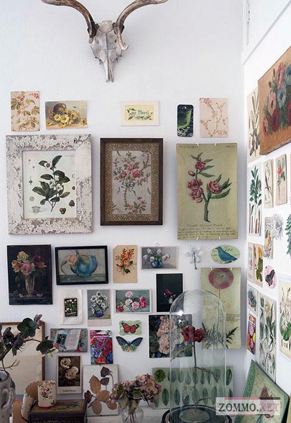 Коллекция сушенных цветов