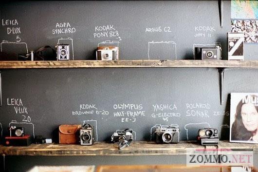 Коллекция старинных фотоаппаратов