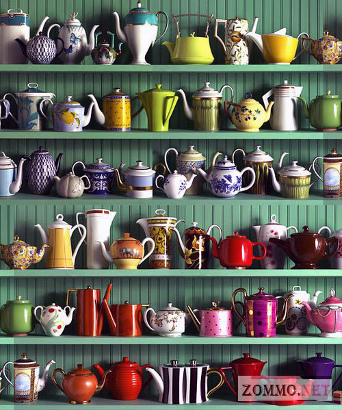 Коллекция чайников