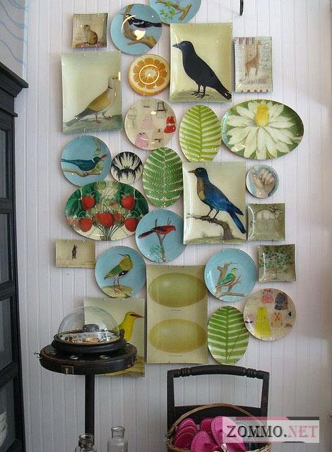 Коллекция тарелок