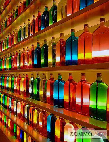 Коллекция бутылок
