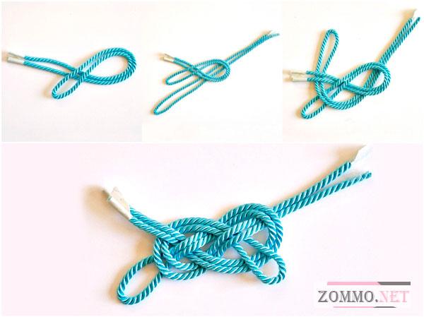 Как сплести браслет из веревки