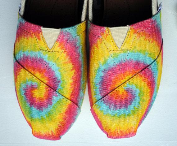 Разноцветные кеды