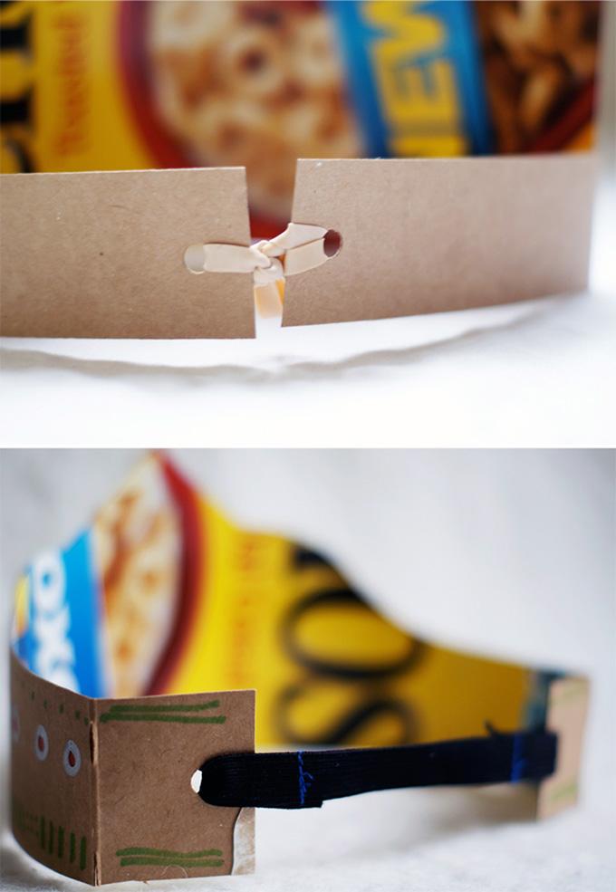 Шаблон короны из бумаги