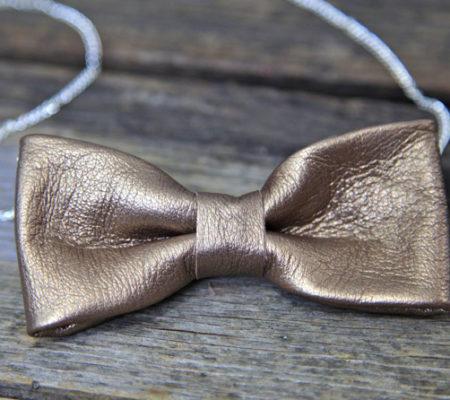 Кожаное ожерелье своими руками