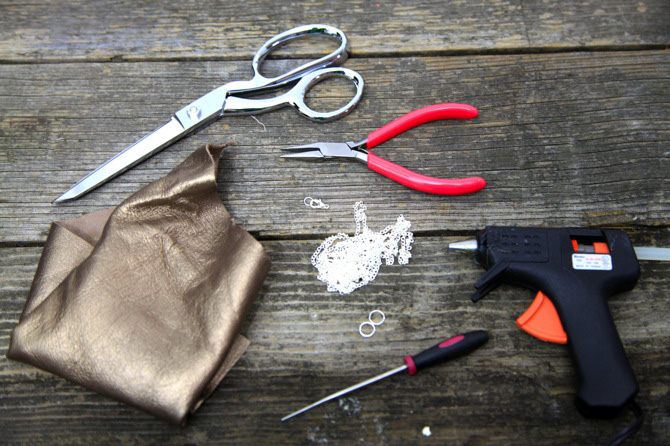 Материалы для изготовления ожерелья