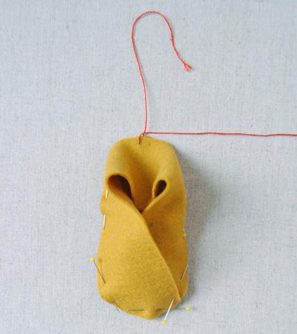 Сшиваем тапочки