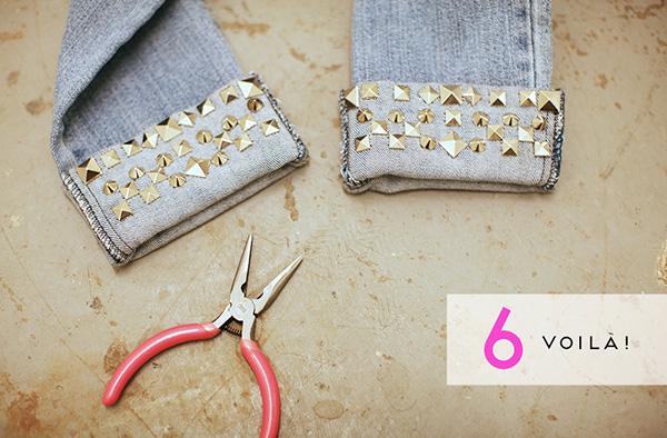 Как украсить джинсы своими руками
