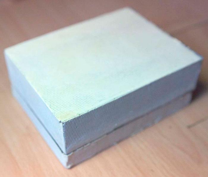 Готовая картонная шкатулка