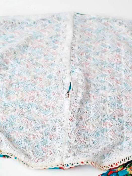 Сшиваем шарф хомут