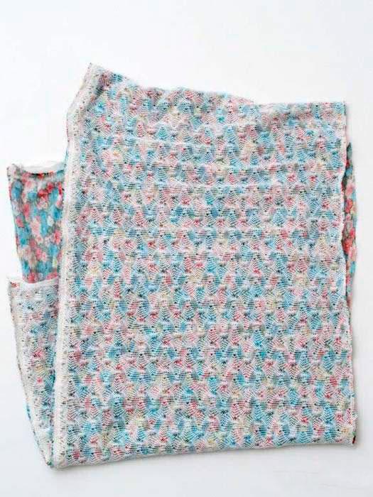 Сшиваем шарф снуд