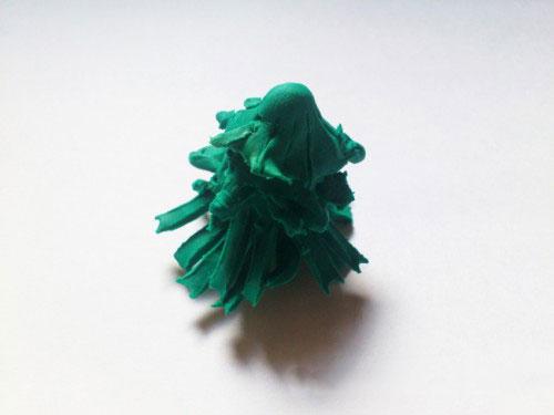Елочка из пластилина