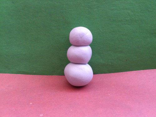 Корпус снеговика