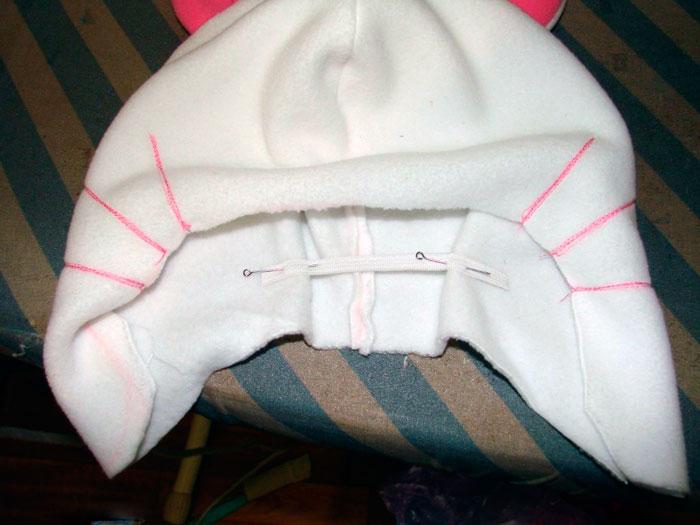 Сшиваем шапочку